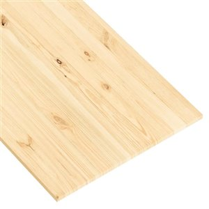 Metrie 24-in x 6-ft Smooth Natural Spruce Wood Wall Panel
