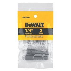 DEWALT 1/4-in Magnetic Hex Nut Driver (2-Pack)