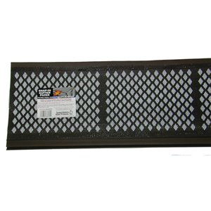 Amerimax 6.5-in x 3-ft Snap-In Gutter Filter PVC Gutter Screen