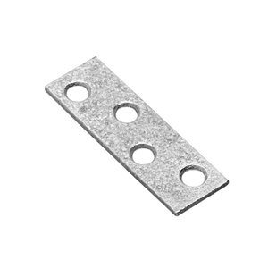 Onward Multi-Position Mending Plate, 5/8 in (16 mm) x 2 in (51 mm) Hot-Dip Galvanized (4-Pack)