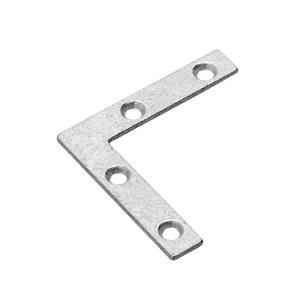 Onward Flat Corner Plate, 3/8 in (10 mm) x 2 in (51 mm) Gold Seal 1150 (4-Pack)