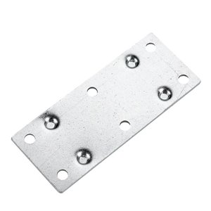 Onward Multi-Position Mending Plate, 1-3/8 in (35 mm) x 3-1/2 in (89 mm) Zinc (4-Pack)