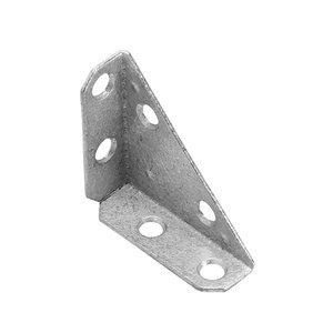 Onward Multi-Position 3-Sided Corner Brace, 2 in (51 mm) x 2 in (51 mm) Hot-Dip Galvanized (2-Pack)