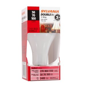 SYLVANIA 100-Watt/270 Lumens Medium Base (E-26) A21 Incandescent Light Bulb (1-Pack)