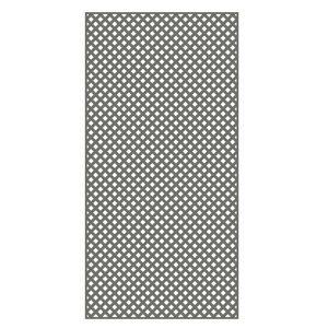 Barrette 4x8-ft Nantucket Gray Diamond Privacy PVC Lattice ...