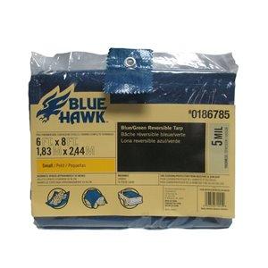 Blue Hawk 6-ft x 8-ft Polyethylene Tarp