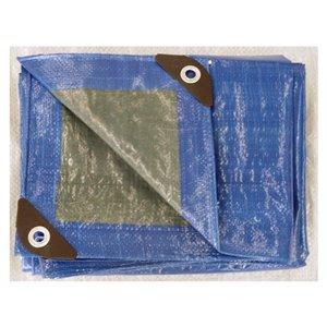 Blue Hawk 8-ft x 10-ft Polyethylene Tarp