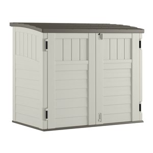 Resin Outdoor Storage Shed