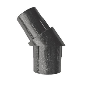 Iron Deck Stair Baluster Connector for Pre Drilled Railing Kit