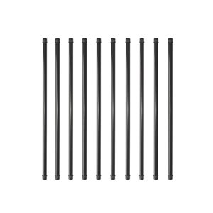 NUVO Iron Baluster- Pack of 10 Steel Balusters 26 in- Round