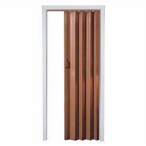 Spectrum 24-in to 36-in x 80-in Fruitwood Folding Closet Door