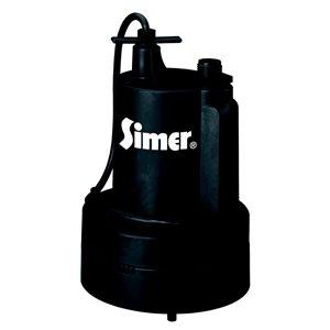 Simer 1/3 HP Submersible Utility Pump