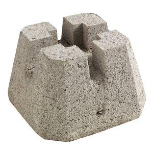 Oldcastle 10-in x 7.5-in 4-Way Patio Deck Block