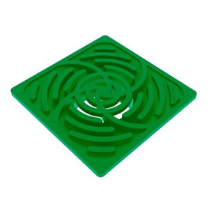 Reln 6in Square Green Grate- fits 3in and 4in