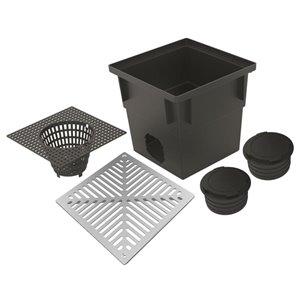 Reln 13-in x 13-in Metal Catch Basin Kit