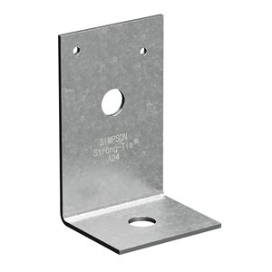 Simpson Strong-Tie Simpson Strong-Tie A24Z 2inch x 4inch Zmax Heavy Angle