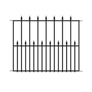 No Dig Empire Steel Fence Panel