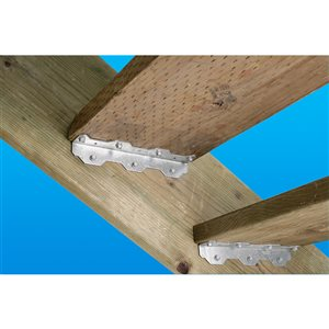 Simpson Strong-Tie TA 10-1/4 in. 12-Gauge ZMAX� Galvanized Staircase Angle