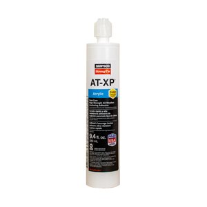 Simpson Strong-Tie AT-XP� 9.4 -oz High-Strength Acrylic Anchoring Adhesive Cartridge with Nozzle