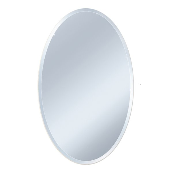 Style Selections 22 In X 28 In Beveled Edge Wall Mirror Lowe S Canada