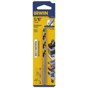 IRWIN 5/16-in x 4.5-in Round Rotary drill Bit