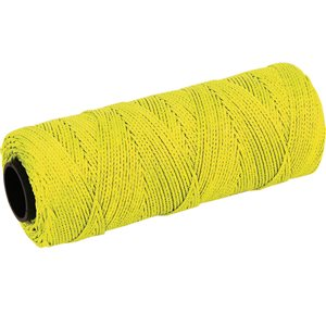 Marshalltown 500-ft Fluorescent Yellow Nylon Mason Line