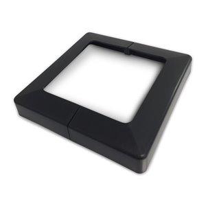 Pylex Plastic Base Cover- Plakcap 44 Black