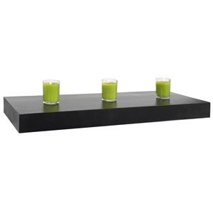 Style Selections 24-in Wood Shelf