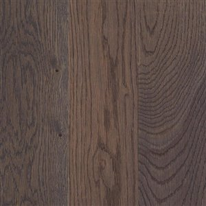 Mohawk 3/4-in Thick Ebony Slate Oak Solid Hardwood Flooring (5-in Wide x Various Lengths)