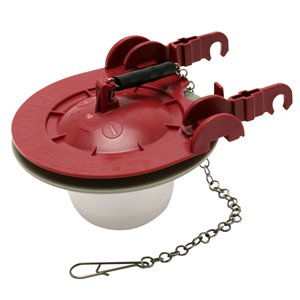 3-in Dia. Universal Water Saving Adjustable Toilet Flapper