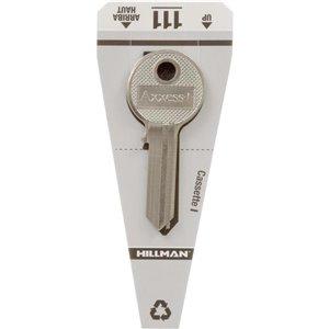 Hillman #111 Padlock Key Blank