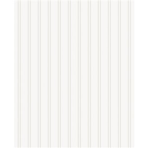 Superfresco Easy Paintable Beadboard Wallpaper in White