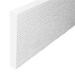 3/4-in x 5-1/2-in x 8-ft PVC Trim Board