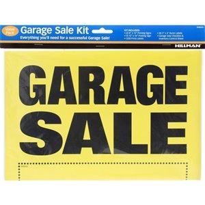 Hillman 8-in x 12-in Garage Sale Sign Kit