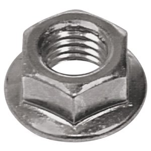 Hillman 2-Count 8mm-1.25 Zinc-Plated Metric Flange Nut