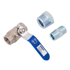 Kobalt NPT Shut Off Kit with 3/4-In Port 3/8-In