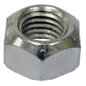 Hillman 7/16-in-14 Zinc Plated Standard (SAE) All Metal Lock Nuts (2-Pack)