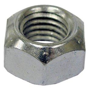 Hillman 1/4-in-28 Zinc Plated Standard (SAE) All Metal Lock Nuts (4-Pack)