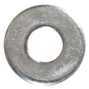 Hillman 5-Count #10 x 1/2-in Zinc Plated Standard (SAE) Flat Washers