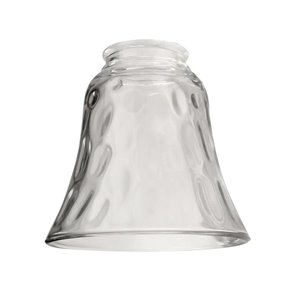 Litex 4.875-in Clear Vanity Light Shade