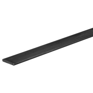 Hillman Hot-Rolled Weldable Steel Slotted Metal Flat Bar