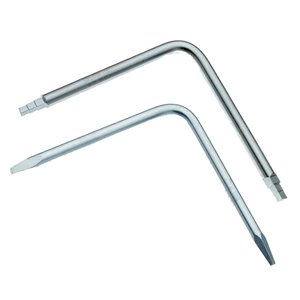 Superior Tool 2-Piece Tapered and 6-Step Faucet Seat Wrench Set