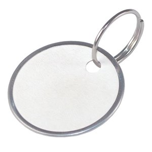 Hillman 25-Pack 1-1/4-in Paper Key Tags with Wire Ring