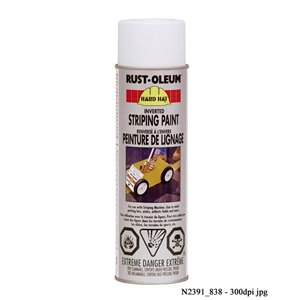 Hard Hat 510g Inverted Striping Paint