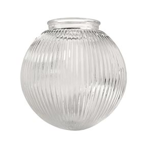 Litex 6-1/4-in Clear Vanity Light Glass