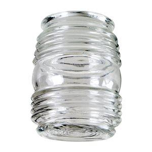 Litex 3.25-in Neck Clear Jelly Jar Glass