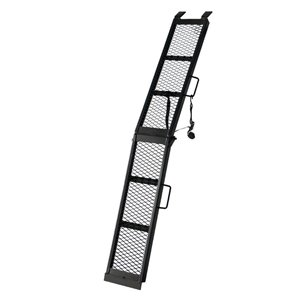 Carry-On Trailer 1-ft x 6 5/8-ft Arched Folding Steel Loading Ramp