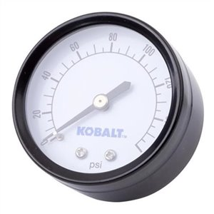 Kobalt 2-in Back-Mount Gauge