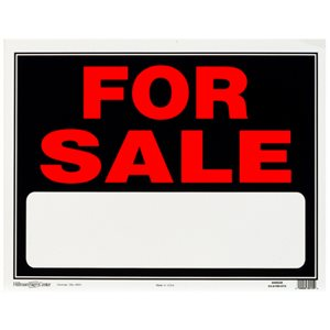 Hillman 15-in x 19-in for Sale Sign
