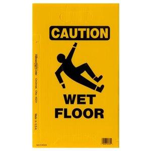 Hillman 20-in x 11.8-in Caution Wet Floor Sign